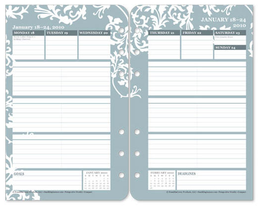 photo relating to Weekly Planner Page referred to as Software Notes for How toward Customise Your Personalized GENEALOGY