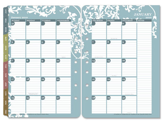 graphic about Two Page Monthly Calendar Template known as Tool Notes for How in the direction of Personalize Your Individual GENEALOGY